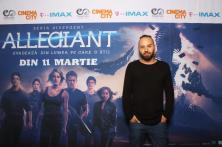 Matteo avanpremiera Allegiant IMAX Freeman Entertainment