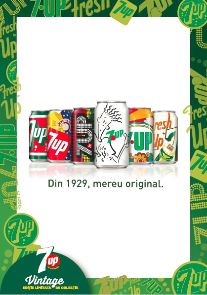 7UP Vintage edition