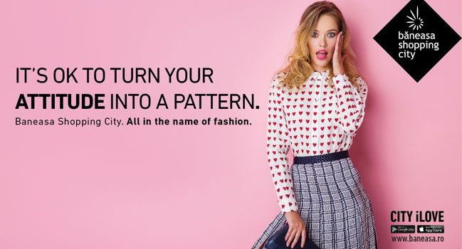 "Băneasa Shopping City dă startul unei campanii de rebranding – ""All In The Name of Fashion"""