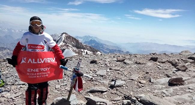 La doar 12 ani, Erik Gulacsi a cucerit vârful Aconcagua (6.962 metri)