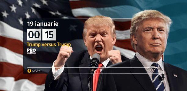"Documentarul ""Trump versus Trump"", la Pro TV!"