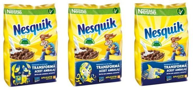 """Cerealele Nesquik au lansat campania """"Descopera lumea subacvatică"""""""