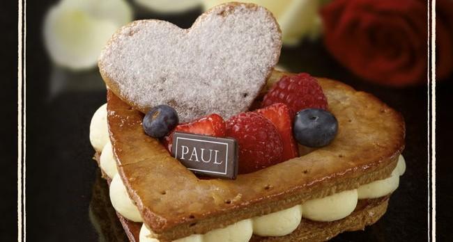 """Colecție de deserturi pentru """"Luna Îndrăgostiților"""" la Brutăriile Paul"""