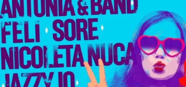 Concert Antonia & Band, Feli, Sore, Nicoleta Nucă și Jazzy Jo în ParkLakede 8 Martie