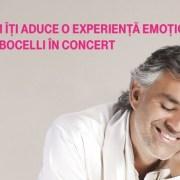 Telekom prezintă Andrea Bocelli World Tour 2017 în România
