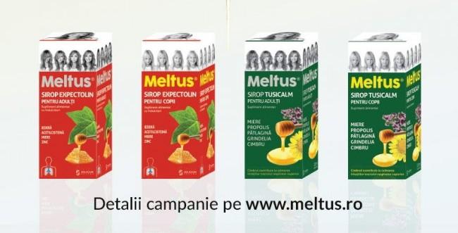 Gama de siropuri Meltus disponibilă acum și online
