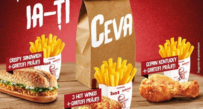 KFC a lansat o nouă campanie: CEVA la doar 5 lei