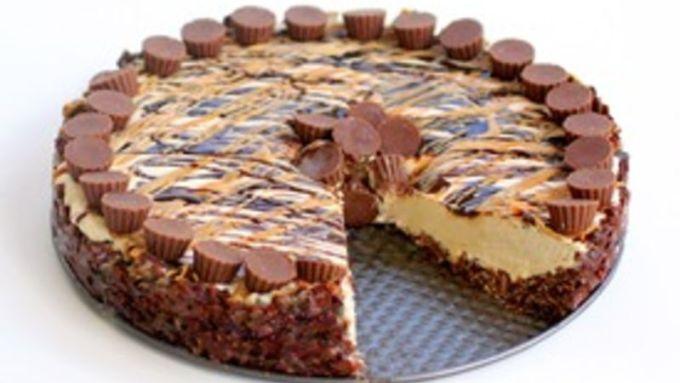 Frozen Peanut Butter Cheesecake