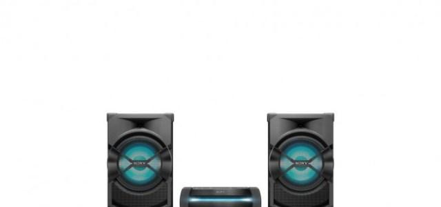 Sony lansează trei noi sisteme High Power Audio pentru petreceri