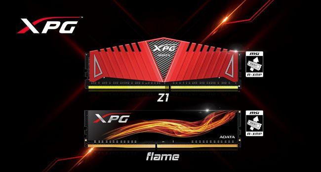 Memoriile ADATA XPG DDR4 validate oficial de către AMD ca fiind compatibilecu AM4/Ryzen