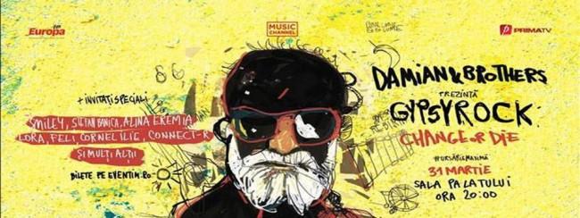 """Discul de Aur pentru Damian & Brothers înaintea mega-concertului """"Gypsy Rock (Change Or Die)"""""""