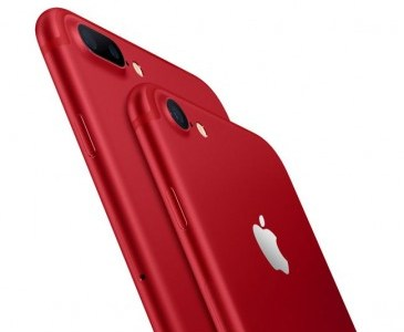iPhone 7 și iPhone 7 Plus (PRODUCT) RED Special Edition vin la Vodafone România