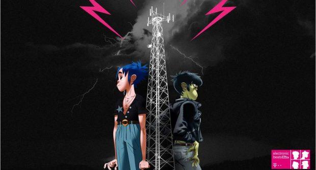 Telekom Electronic Beats anunță prima discuţie live cu membrii animaţi Gorillaz, transmisă pe electronicbeats.net