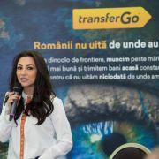Andra devine imaginea oficială a TransferGo România