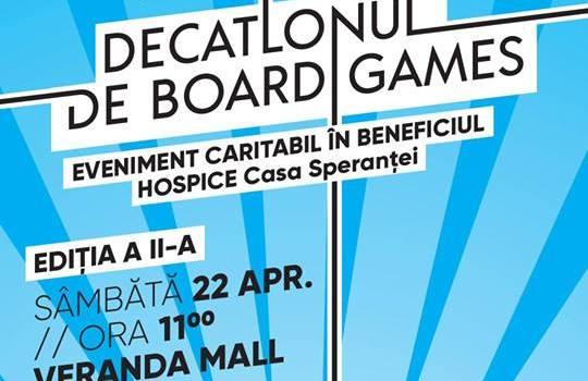 Veranda Mall găzduiește Decatlonul de Board Games