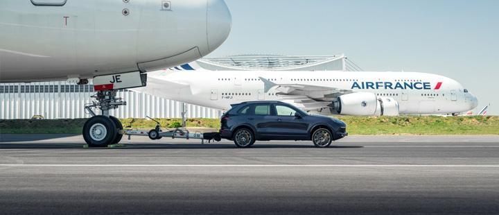 Air France și Porsche au stabilit un nou record mondial