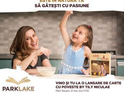 ParkLake găzduiește lansarea noii cărți semnate de Tily Niculae