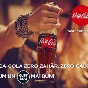 Coca-Cola România continuă seria lansărilor: Coca-Cola Zero Zahăr. Zero Calorii!
