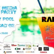 RADAR DE MEDIA Summer Party la BlueBerry Pool by Ambasad'Or