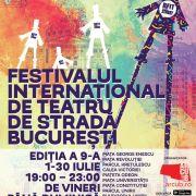 Festivalul Internațional de Teatru de Stradă București – B-FIT in the Street continuă!