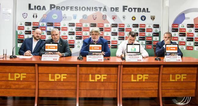 """Gino Iorgulescu, LPF: """"Am renunțat la Orange pentru că a dorit să diminueze contractul. BETANO este acum partenerul principal al Ligii 1"""""""