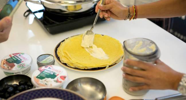 Zepter îți dă o mână de ajutor pentru o porție de clătite pufoase, light și sănătoase