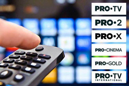 PRO reunește toate canalele TV din grup sub același concept grafic, vizual, dar și la nivel de denumiri
