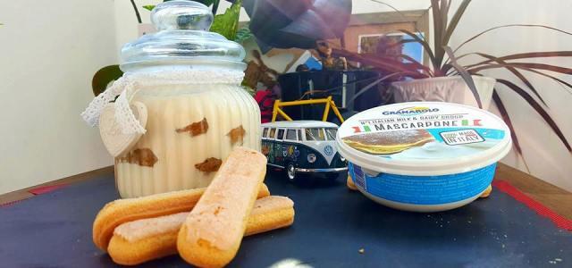 Poftă de dulce: Tiramisu cu Mascarpone Granarolo