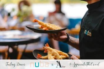 noul meniu al restaurantului NUBA 2