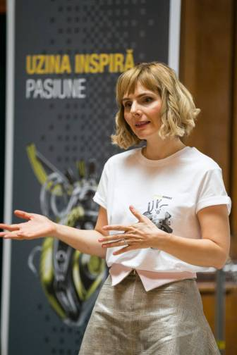 Adina Ionescu, Director de Comunicare si Responsabilitate Sociala Groupe Renault Romania