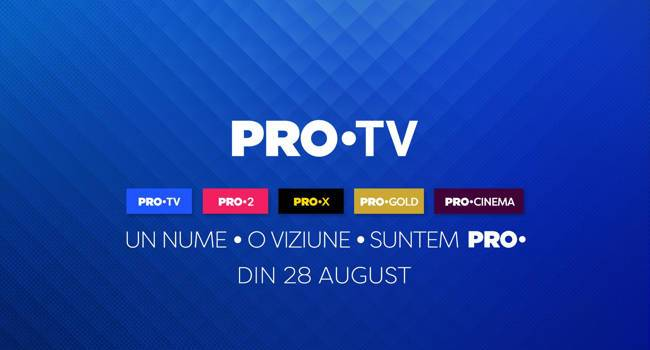 Cum arată PRO TV după rebranding!