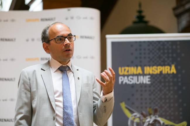 Yves Caracatzanis, CEO Groupe Renault Romania