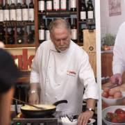 Ce ne-a gătit Antonio Passarelli la evenimentul de lansare al noii emisiunii de la TV Paprika