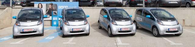 CABY, primul serviciu de car sharing din România cu mașini exclusiv electrice