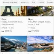 Google lansează serviciile Zboruri și Destinații în România