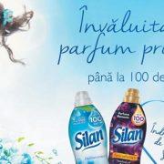 Noul Silan, parfum și prospețime până la 100 de zile