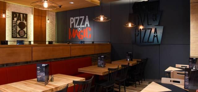 Pizza Hut Dorobanți se reinventează: design urban, industrial și modern, dar și noi preparate