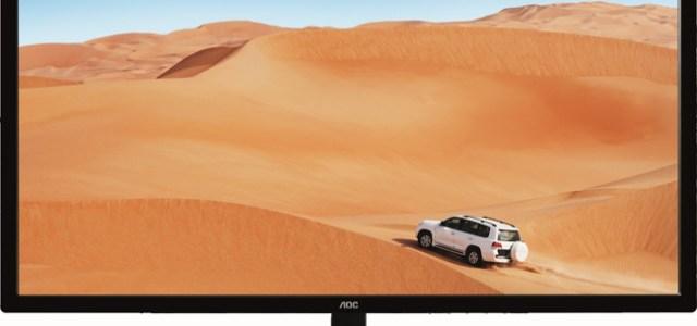 AOC lansează monitorul de 31,5 inchi și rezoluție de 1440p