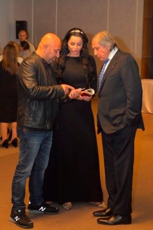 Catalin Scarlatescu, Brigitte Sfat si Ilie Nastase