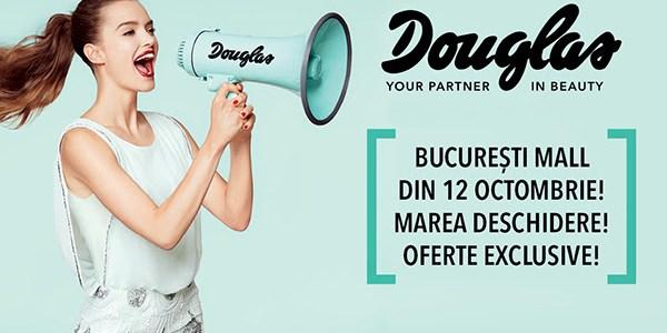 Douglas deschide un nou flagship în România