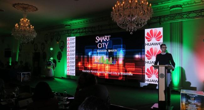 Huawei România câștigă Premiul de Excelență în cadrul Galei Smart City Industry Awards 2017
