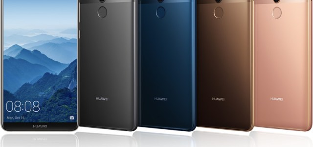 Huawei lansează Mate 10 și Mate 10 Pro, smartphone-uri dotate cu Inteligență Artificială