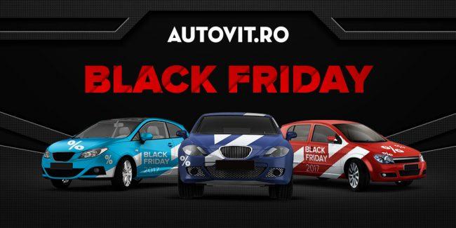 Autovit.ro și-a dublat oferta de Black Friday