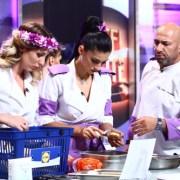 """Patru chefi de succes în bucătăria ,,Chefi la cuțite""""în cea de-a cincea confruntare pe echipe"""