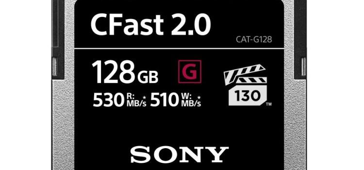 Sony lansează noile carduri de memorie CFast din gama Pro