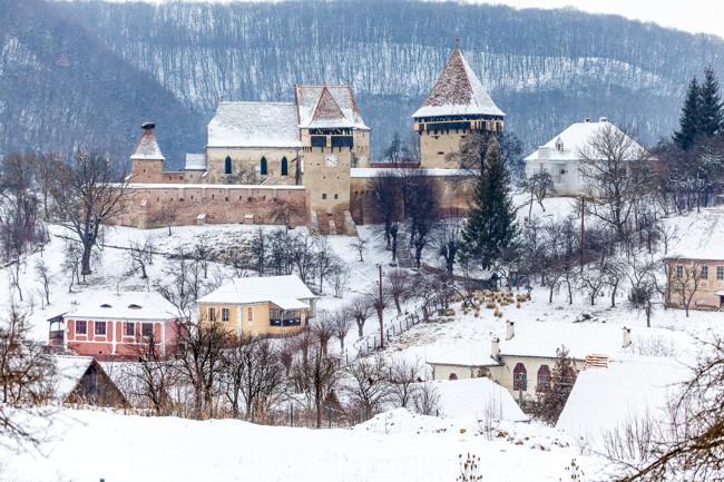 O nouă destinație pentru ecoturismul de iarnă – Colinele Transilvaniei! 1