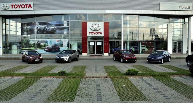 Toyota generează afaceri de peste 14 milioane de lei anual familiei Petrescu