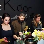 Workshop Christmas Party laK'dor Flowers!