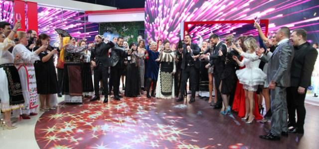 Cum arata noaptea dintre ani la Kanal D?