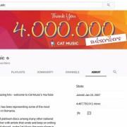Cat Music, cel mai puternic canal de YouTube din Romania